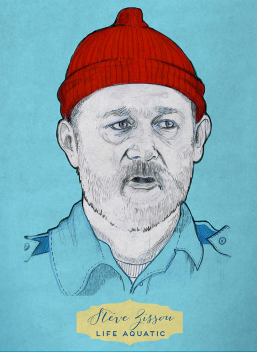 Tributo a Wes Anderson - Steve Zissou 3