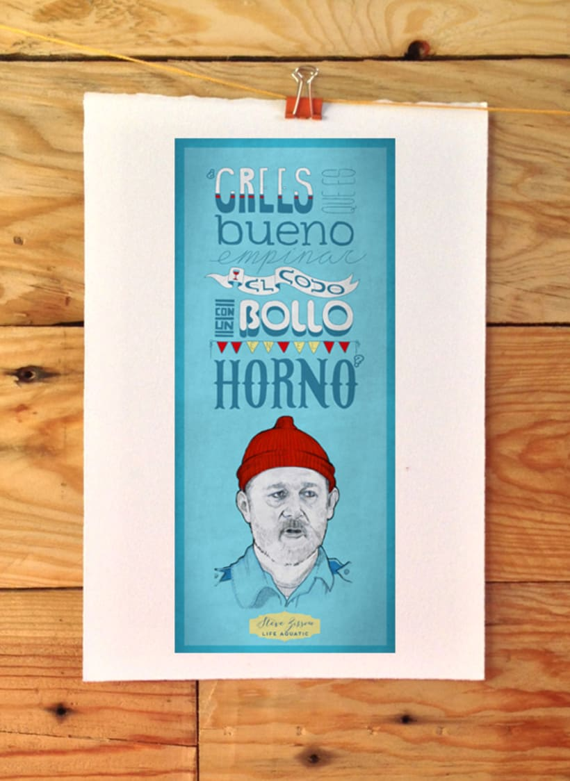 Tributo a Wes Anderson - Steve Zissou 4