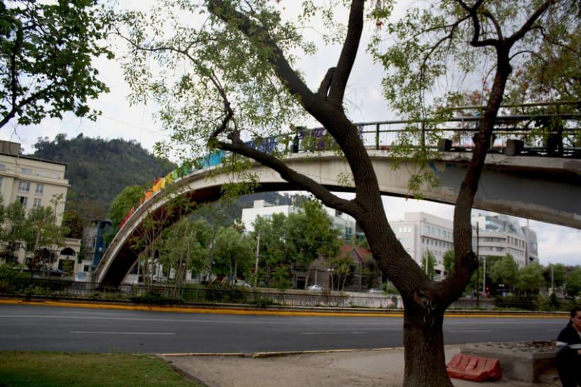 Arcoiris en el Río Mapocho / Santiago de Chile 11