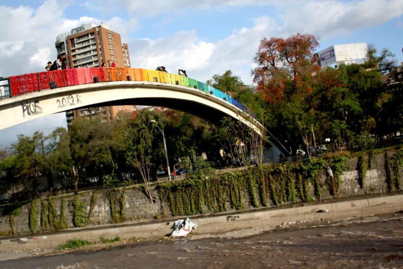 Arcoiris en el Río Mapocho / Santiago de Chile 13