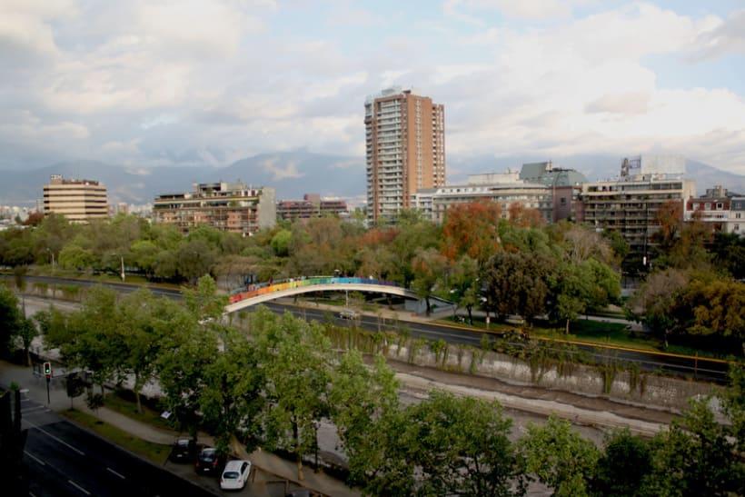 Arcoiris en el Río Mapocho / Santiago de Chile 14
