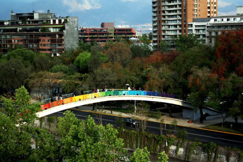 Arcoiris en el Río Mapocho / Santiago de Chile 15