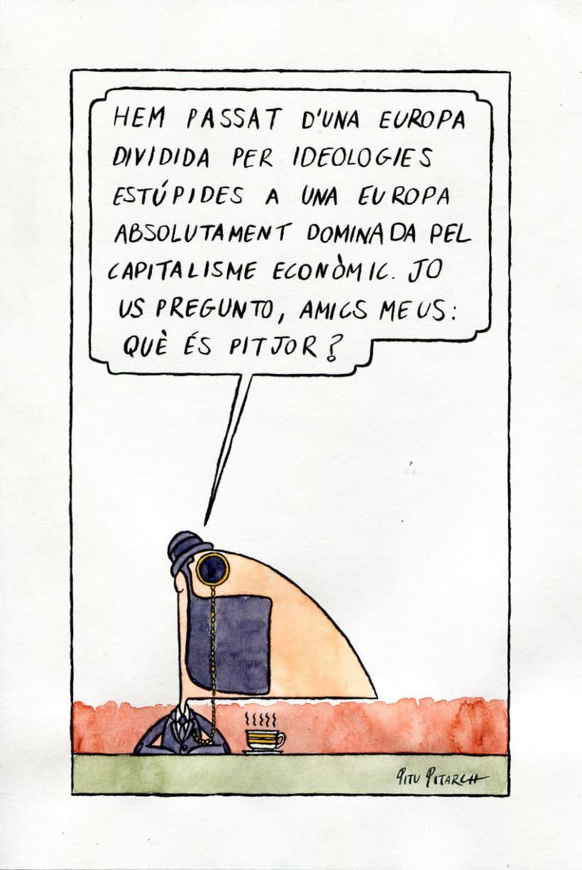 Viñeta política (en catalán). 0