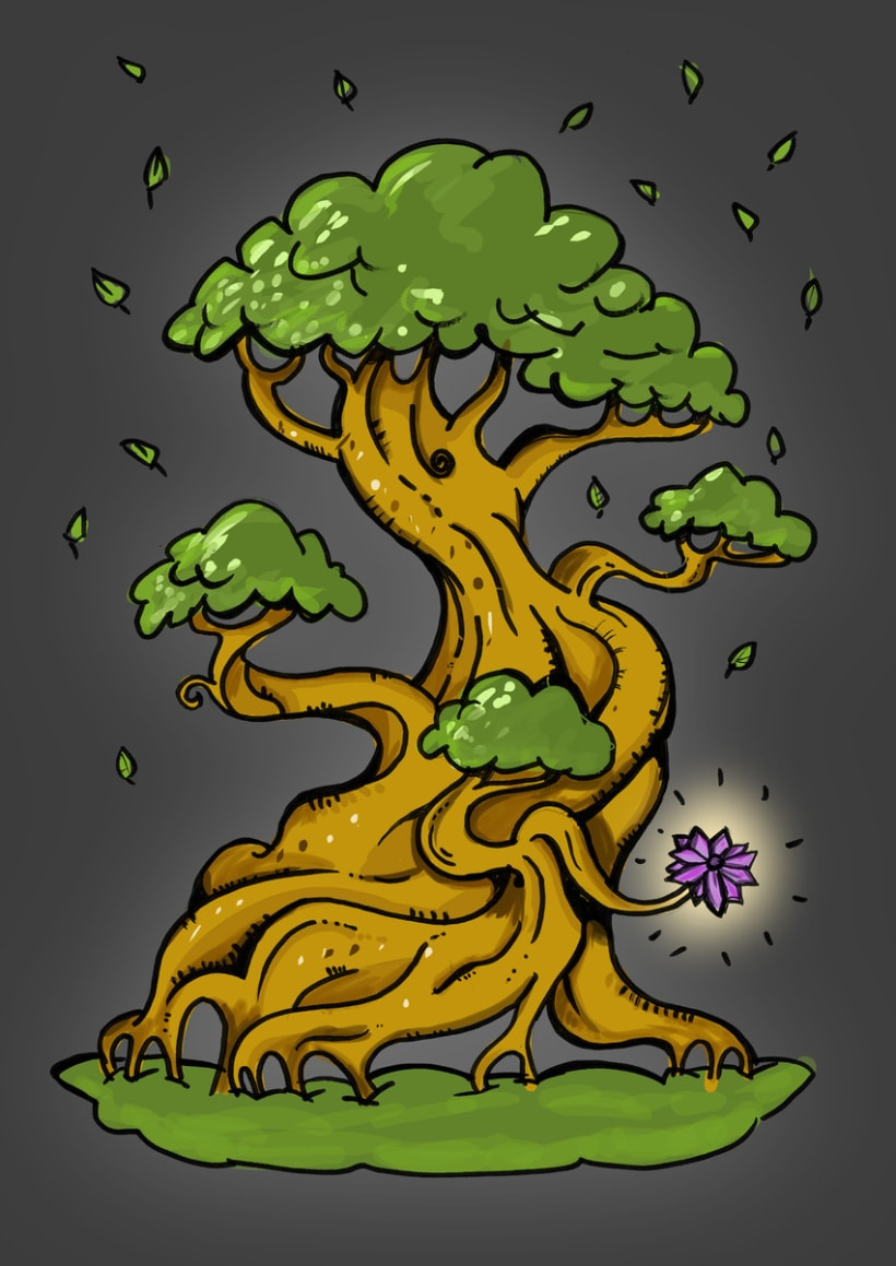 Magic tree -1