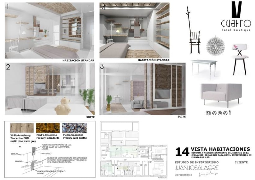 Proyecto | Hotel boutique 2