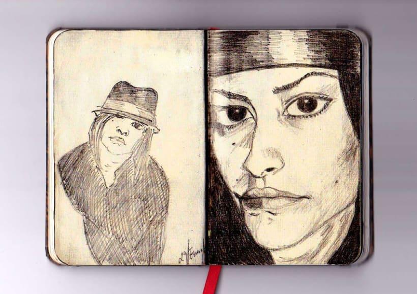 Ilustración a lápiz 3