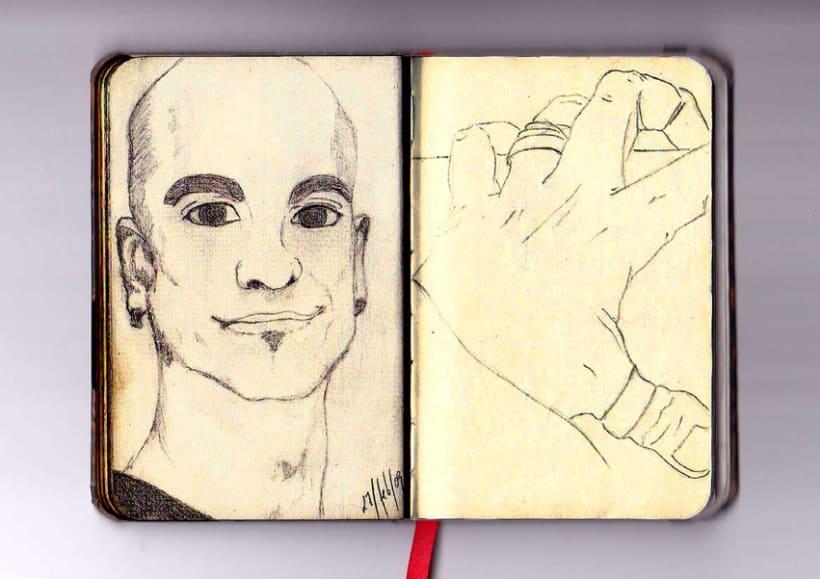 Ilustración a lápiz 4