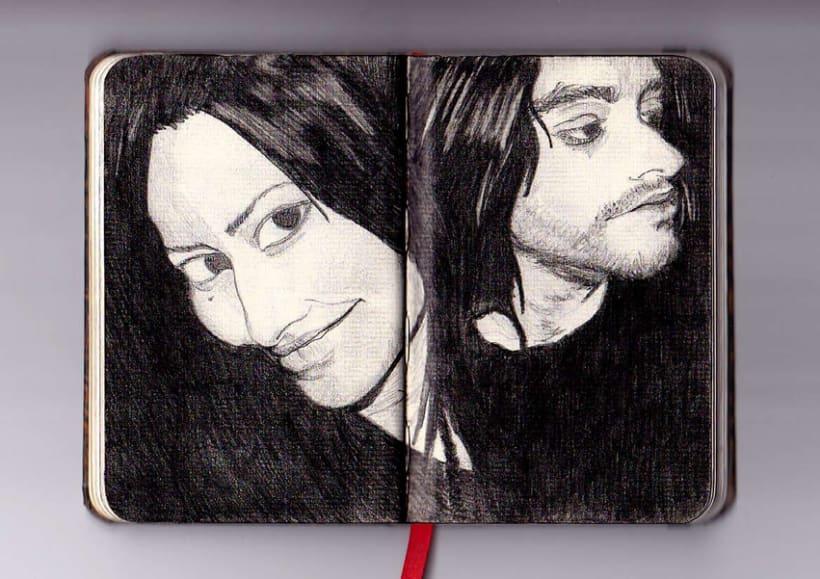 Ilustración a lápiz 5