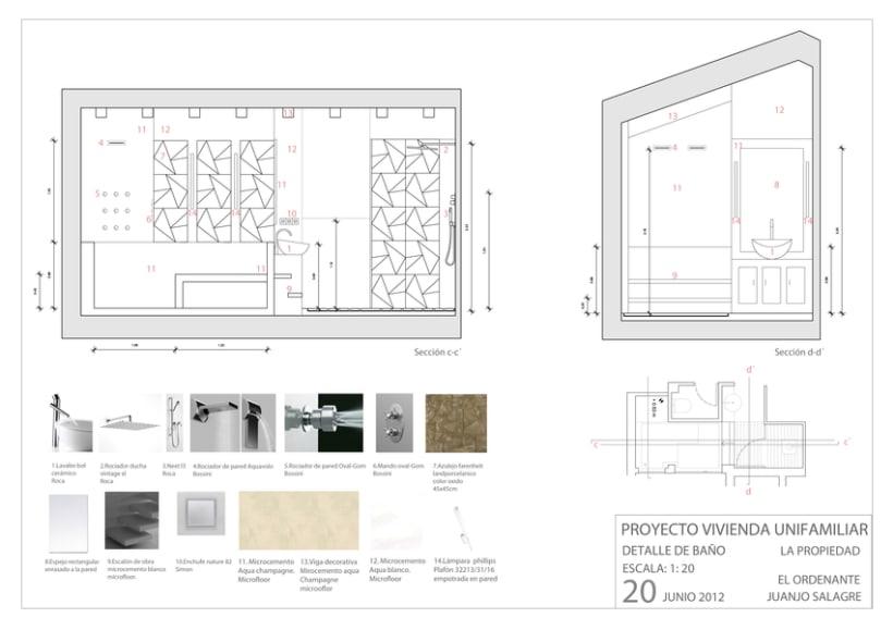 Proyecto básico   Vivienda en Madrid 8