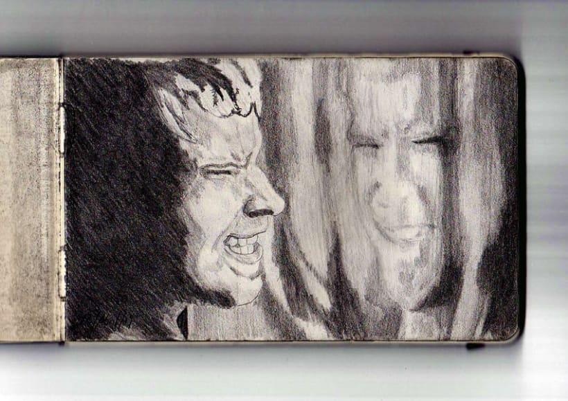 Ilustración a lápiz 8