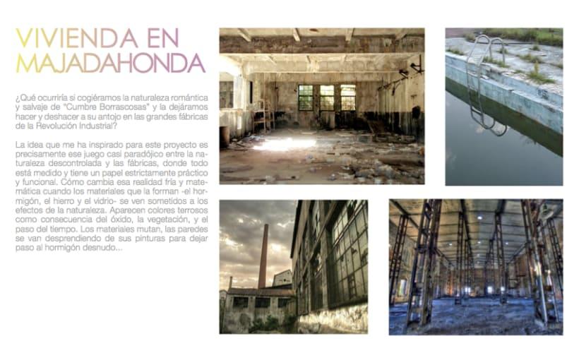 Proyecto básico   Vivienda en Madrid 0