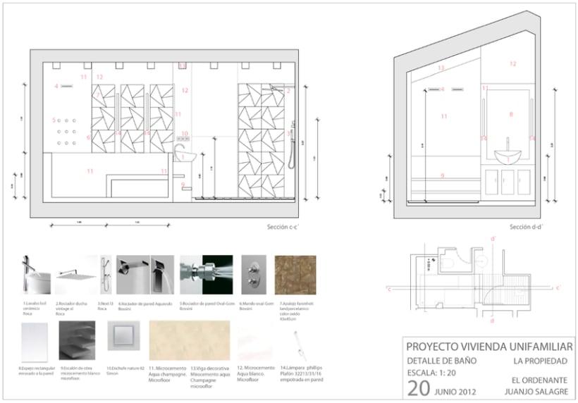 Proyecto básico   Vivienda en Madrid 10