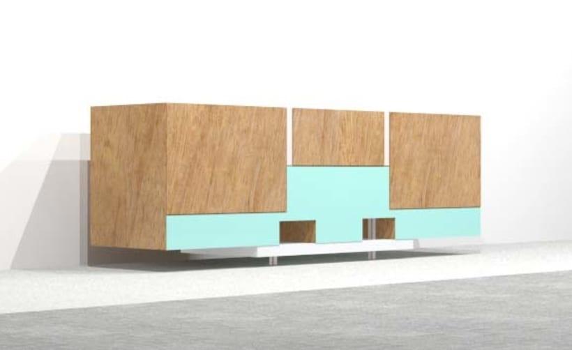 Diseño de Mobiliario | Aparador -1