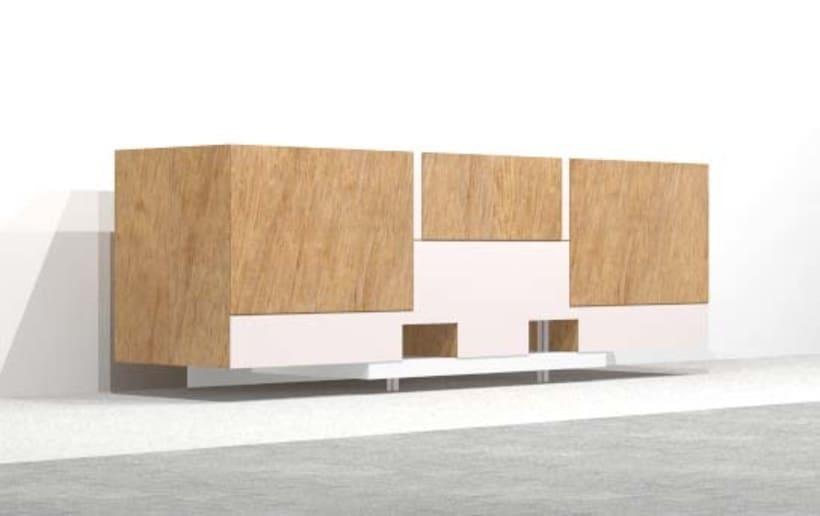 Diseño de Mobiliario | Aparador 0