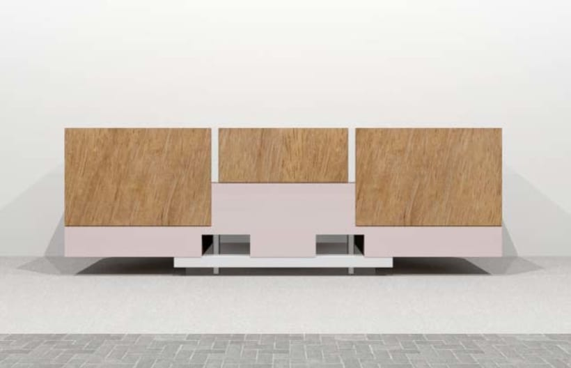 Diseño de Mobiliario | Aparador 1