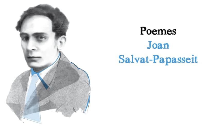 """Lófici que més m'agrada"", Antología de poemas  J.S Papasseit. Andana Editorial.  2"