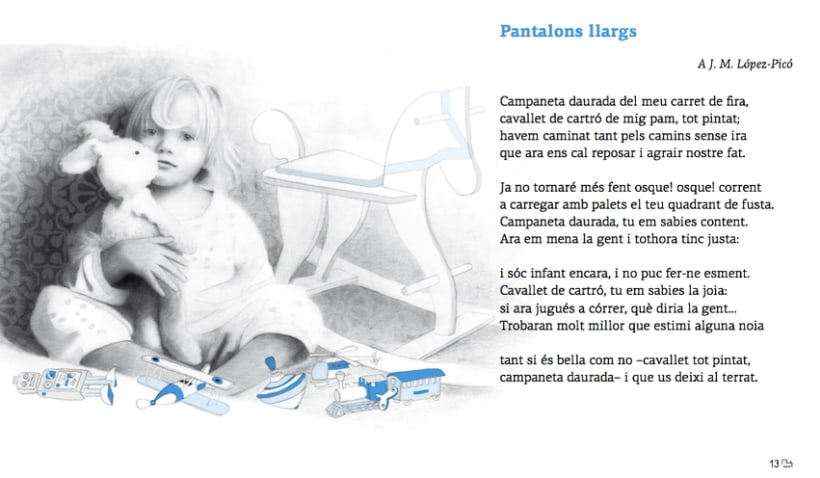 """Lófici que més m'agrada"", Antología de poemas  J.S Papasseit. Andana Editorial.  5"