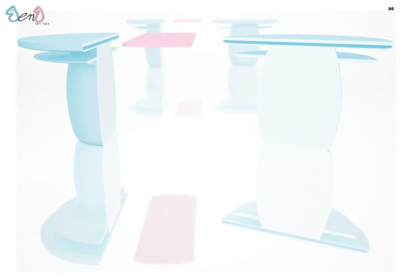 Diseño de mesa extensible para exterior 1