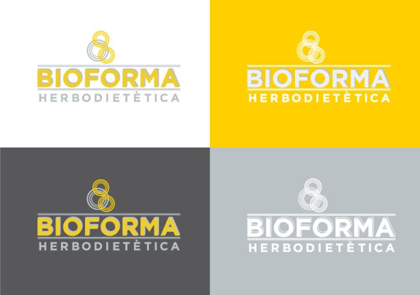 Identidad Corporativa Bioforma Herbodietética 2