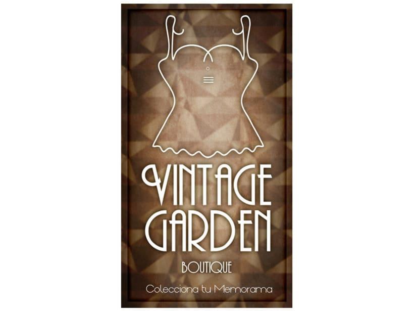 Memorama de etiquetas para la boutique Vintage Garden 12