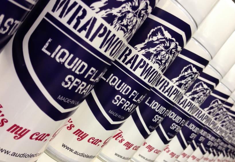 WrapWorkers - Plastic Liquid Spray- It's my car Honey! -1