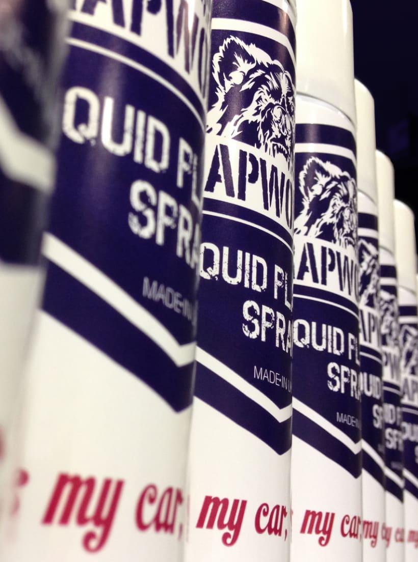 WrapWorkers - Plastic Liquid Spray- It's my car Honey! 1