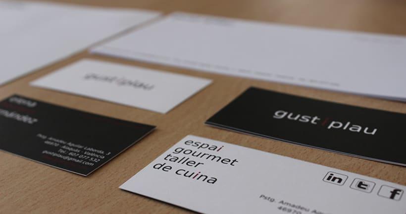 Gust i Plau Identidad Corporativa + Diseño Espacio 2