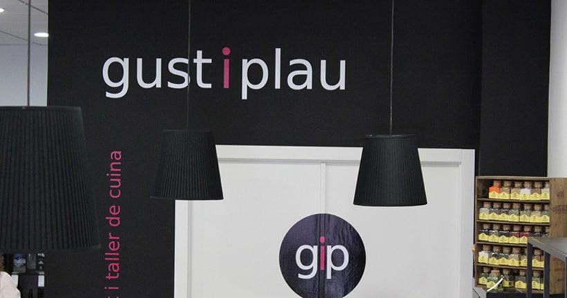 Gust i Plau Identidad Corporativa + Diseño Espacio 3