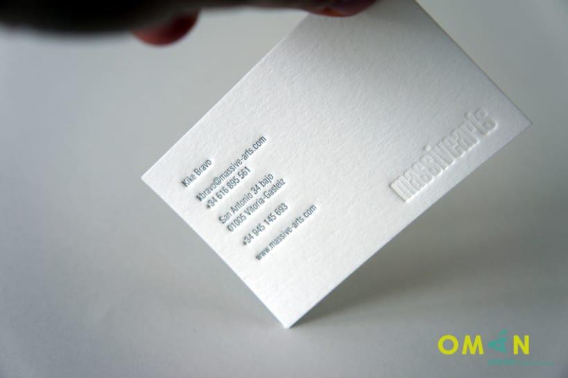 10 tarjetas impresas en letterpress 7