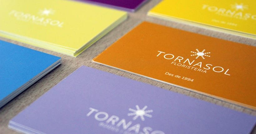 Floristería Tornasol Identidad Corporativa 5