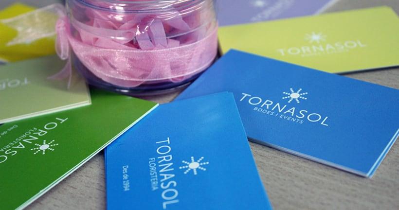 Floristería Tornasol Identidad Corporativa 6