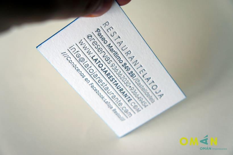 10 tarjetas impresas en letterpress 8