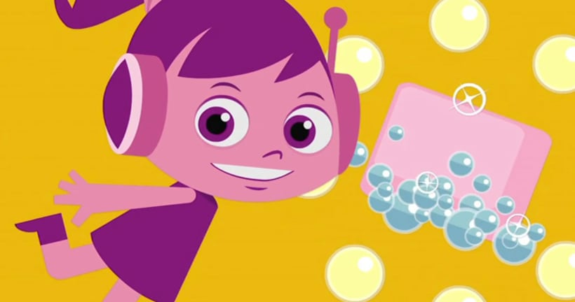 Spacenena. Proyecto de serie de animación 1