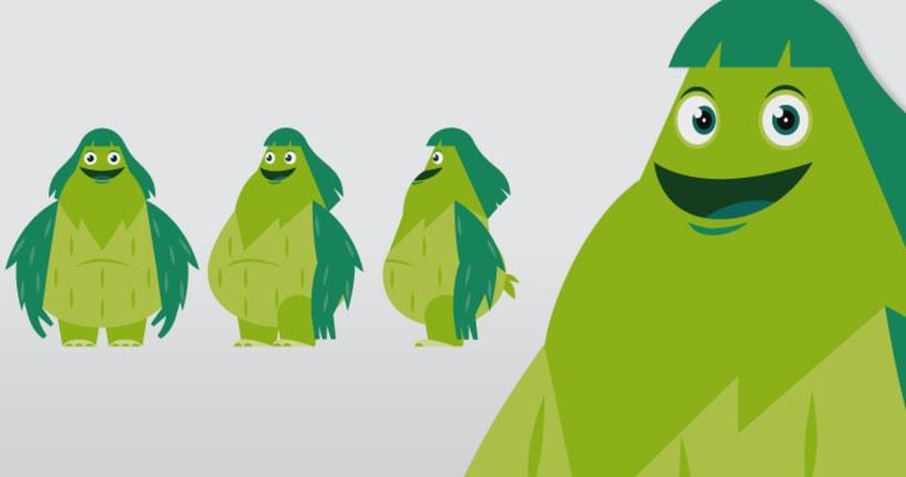 Spacenena. Proyecto de serie de animación 3