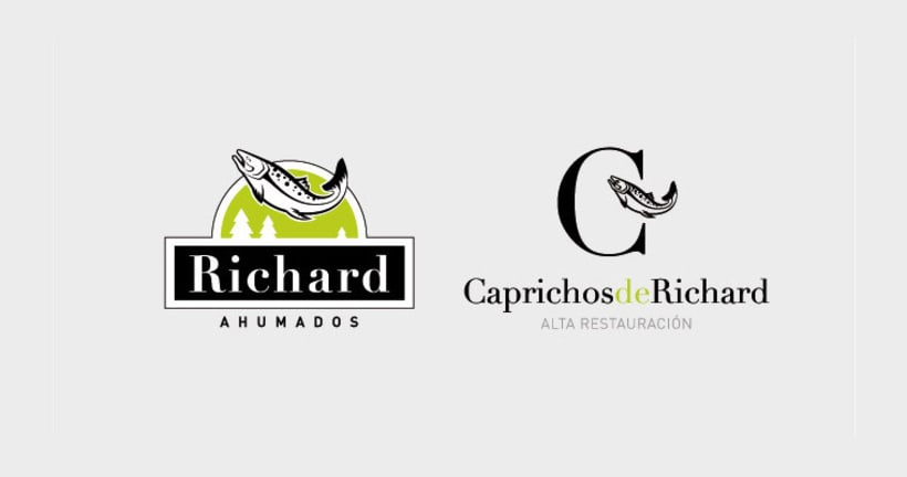 Ahumados Richard Packaging e Identidad Corporativa 0