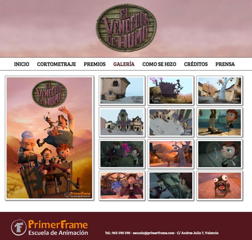 El Vendedor de Humo Web Site 2