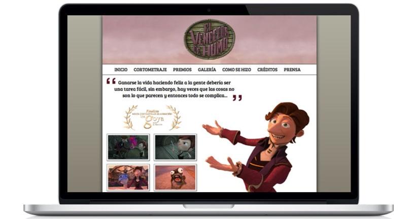 El Vendedor de Humo Web Site 0