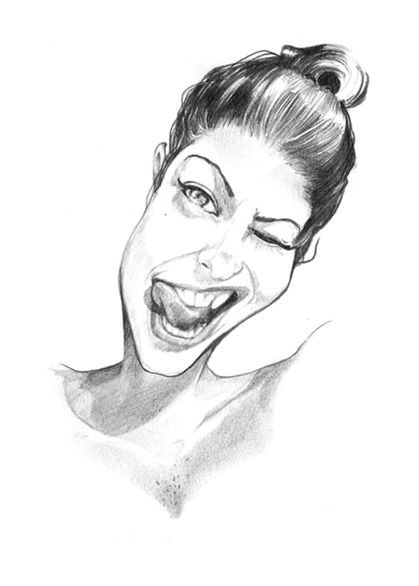 Caricatures. Illustration -1