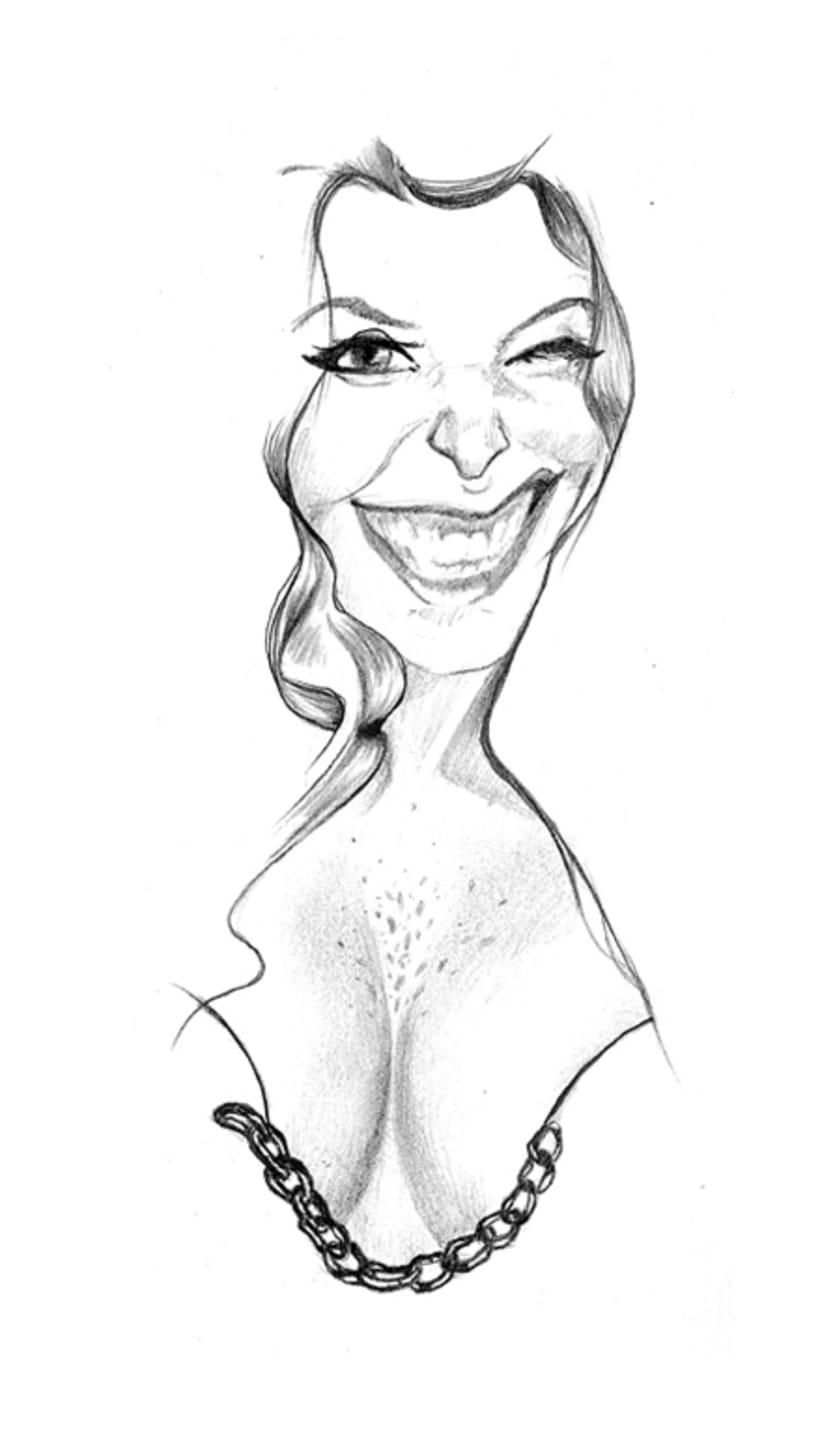 Caricatures. Illustration 1