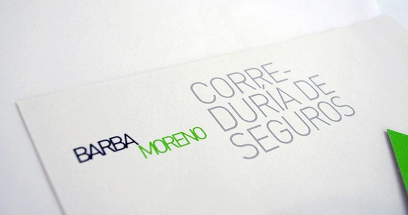 Barba Moreno Identidad Corporativa 0