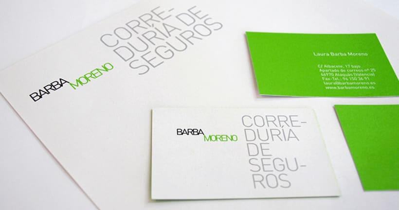 Barba Moreno Identidad Corporativa 1