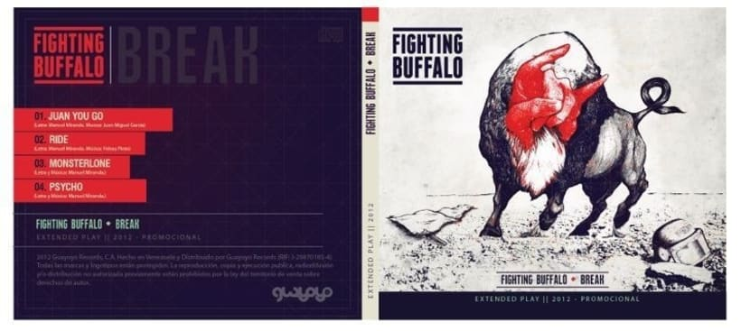 Fighting Buffalo (EP Cover). 5