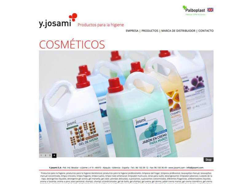 Josami Web Site 1