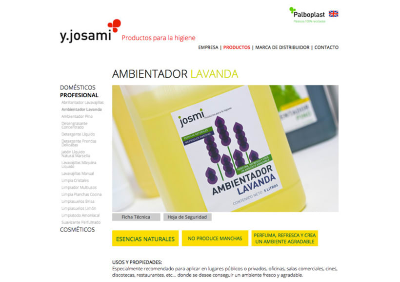 Josami Web Site 2