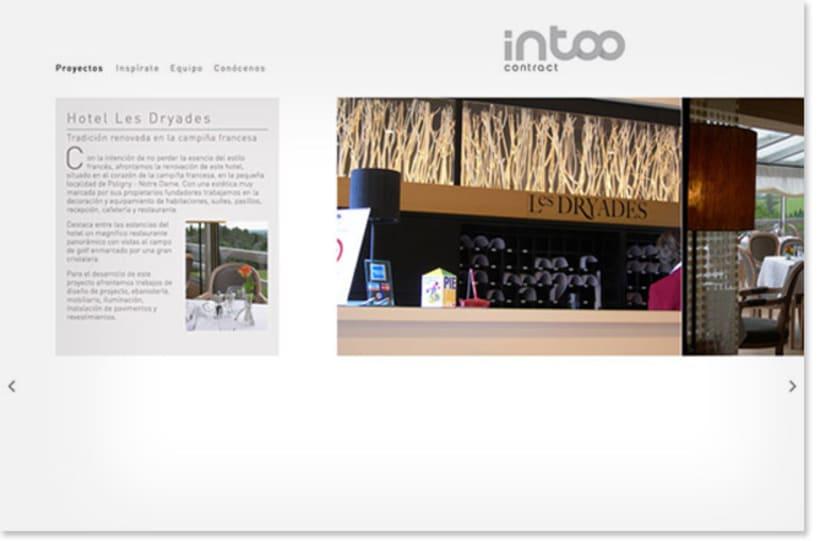 Intoo Contract. Naming, Identidad Corporativa y Web Site 1