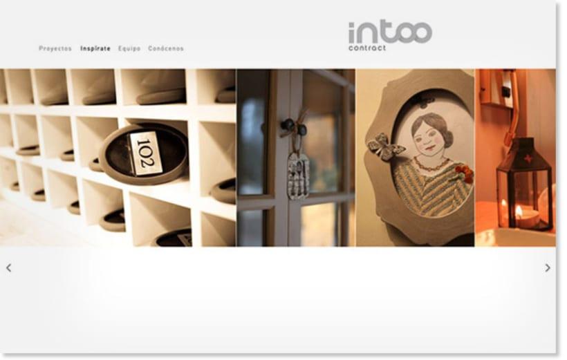 Intoo Contract. Naming, Identidad Corporativa y Web Site 2