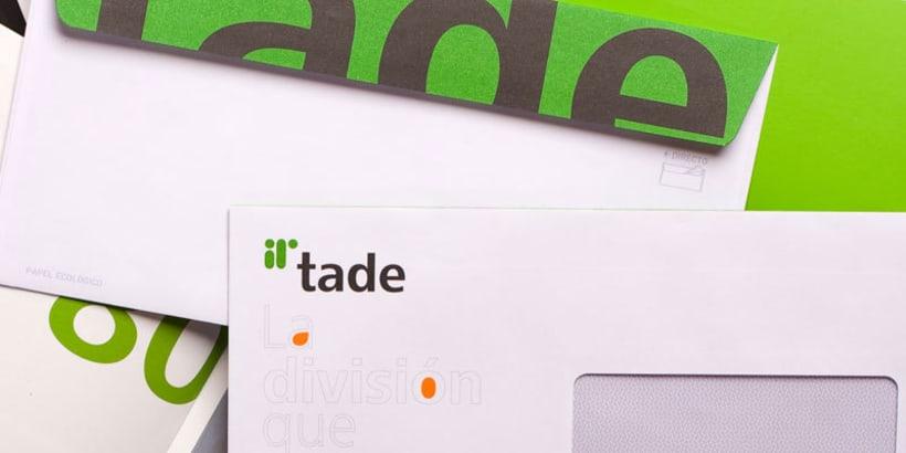 Tade Identidad Corporativa + Web Site 0