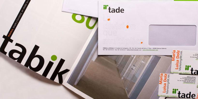 Tade Identidad Corporativa + Web Site 3