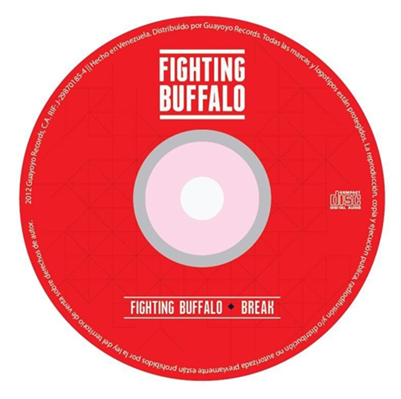 Fighting Buffalo (EP Cover). 6