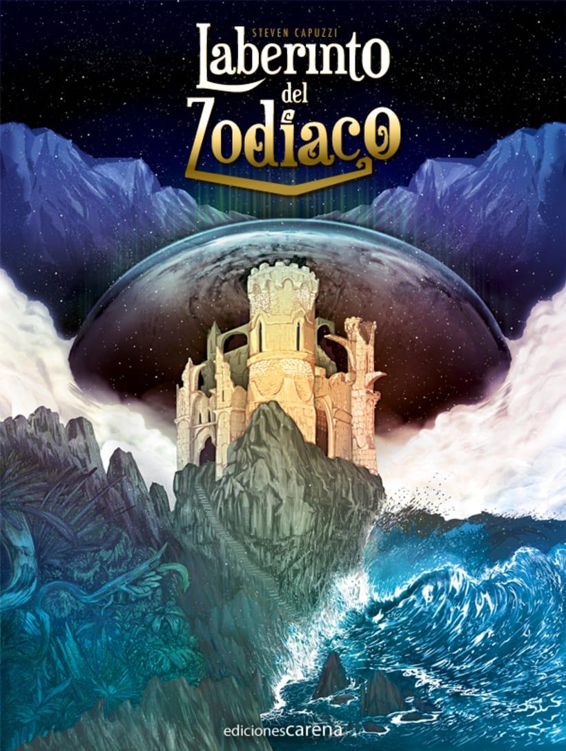 Laberinto del Zodiaco (Cover illustrated). 2